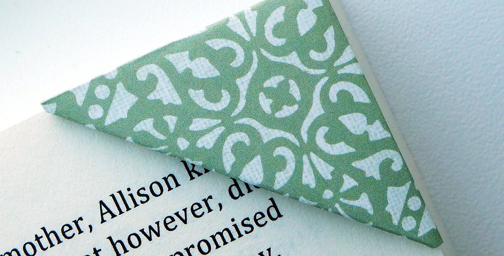 Floral Paisley Pattern Bookmark (2 colors)