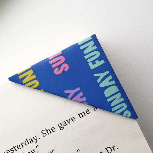 Sunday Funday Bookmark