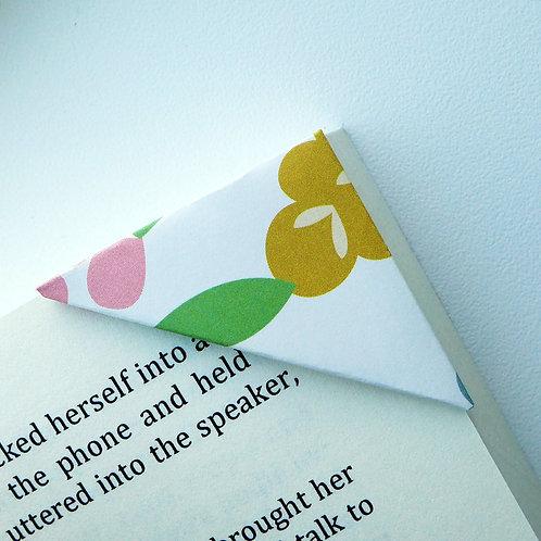 Colorful Leaf & Bloom Bookmark