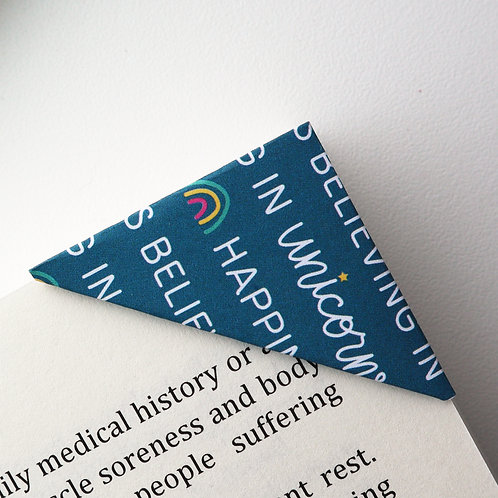 Happiness Is Believing In Unicorns Bookmark