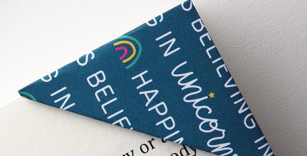 Happiness Is Believing In Unicorns Bookmark