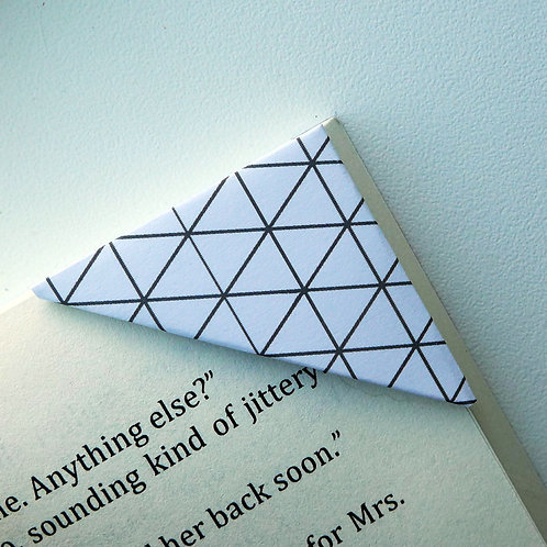 Triangle Diamond Pattern Bookmark