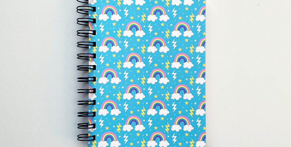 Soon There'll Be Rainbow Notebook Journal