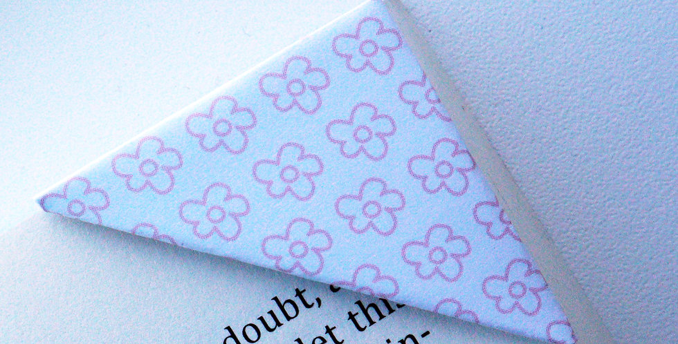 Little Pink Rosy Bookmark
