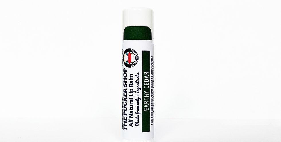 Earthy Cedar All Natural Lip Balm