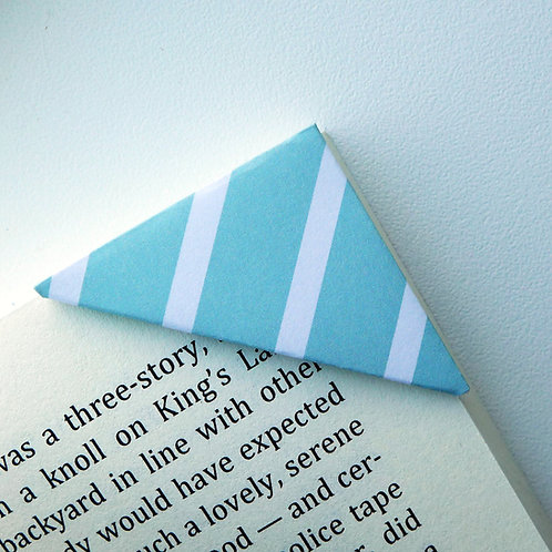 Minty Kiss Candy Wrapper Bookmark