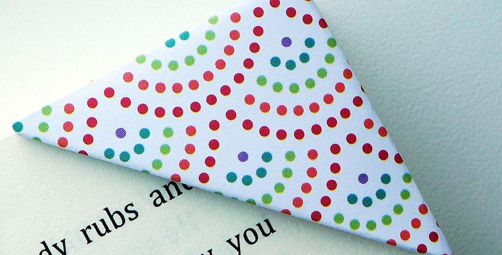 Colorful Rainbow Bookmark