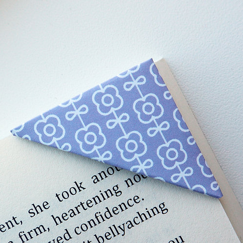 Flower In Line Bookmark (2 colors)