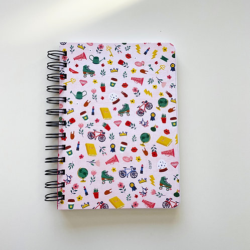 Overachiever Girl Notebook Journal