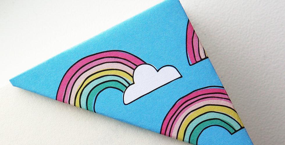 Rainbow On Blue Sky Bookmark