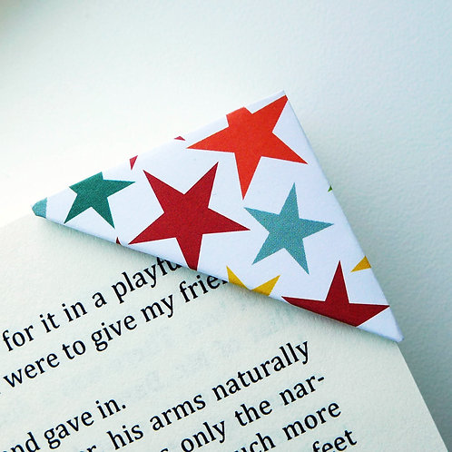 Colorful Star Bookmark