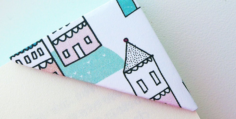 Abstract Summer House Bookmark