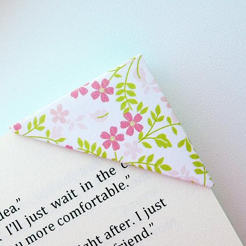 Fallen Cherry Blossom Bookmark