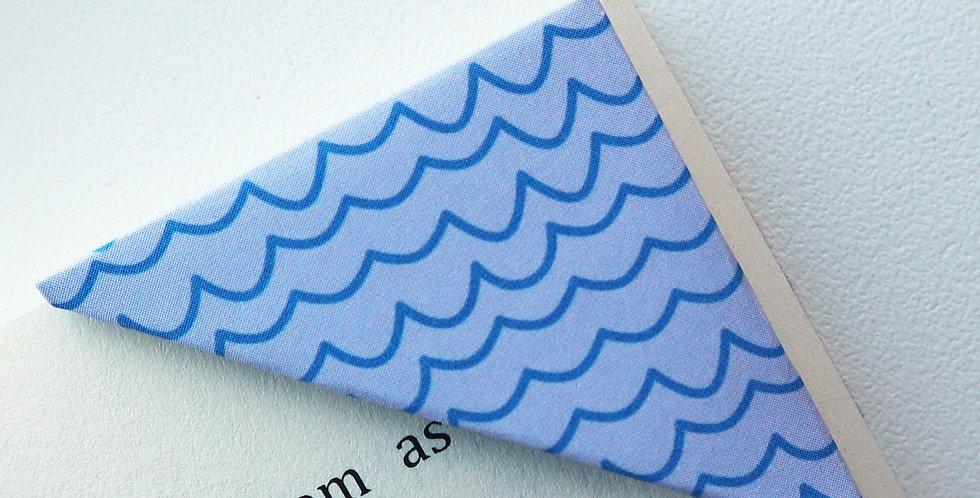 Rough Wave Bookmark (2 colors)