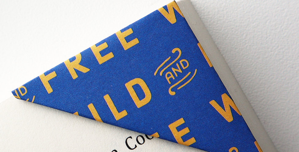 Free And Wild Bookmark