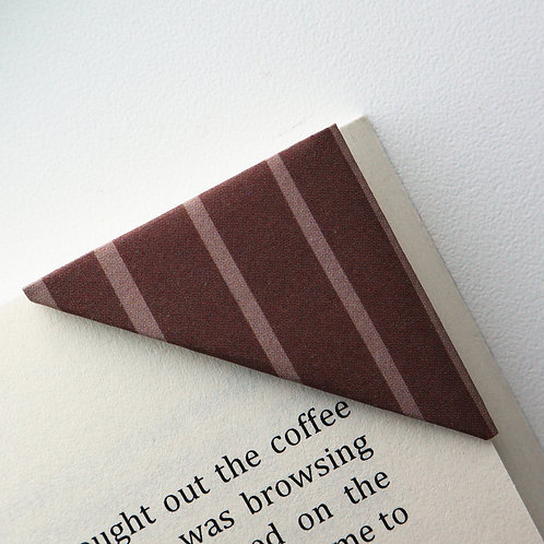 Wide Stripe Bookmark (2 colors)