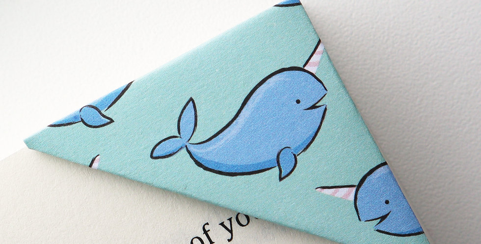 Dolphin Party Bookmark