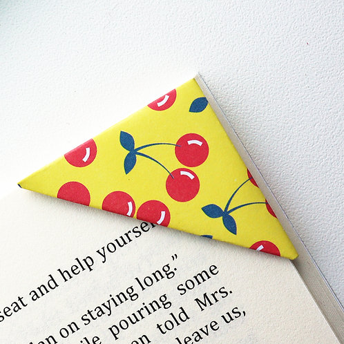 Cherry Me Happy Bookmark
