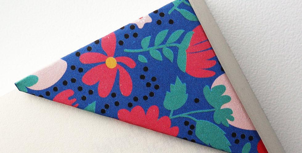 Blue Garden Bookmark