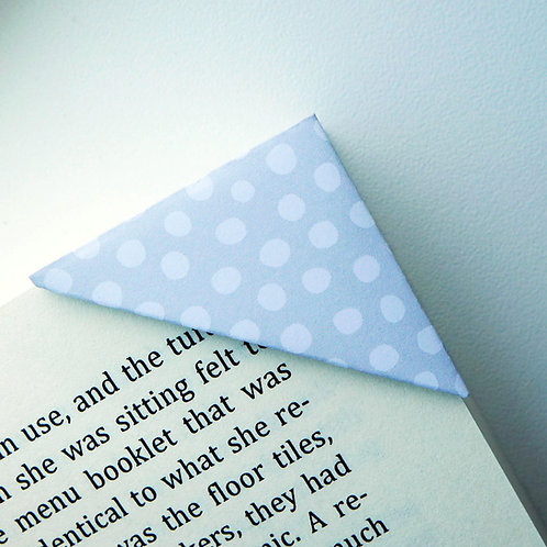 Snowball On Grey Bookmark