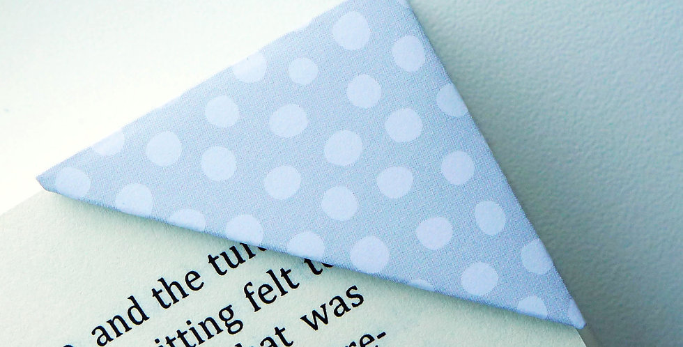 Snowball On Grey Bookmark