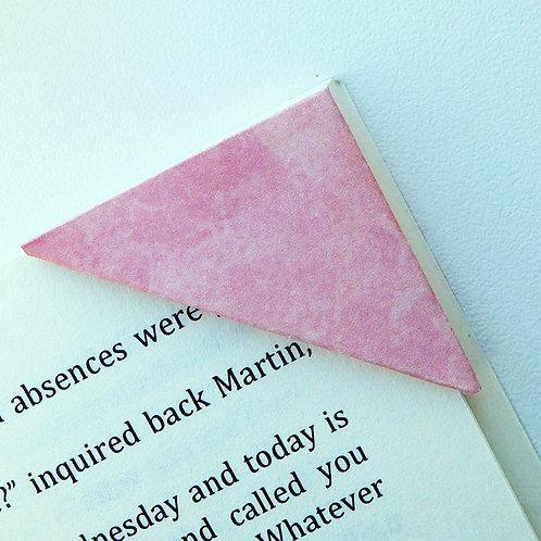 Romantic Pink Watercolor Bookmark