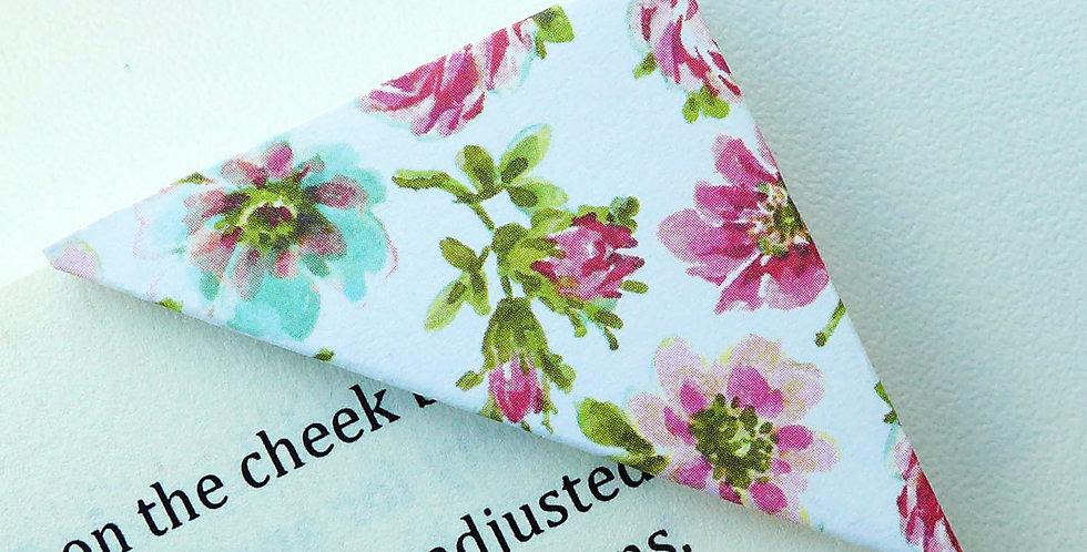 Pink Rose Bookmark
