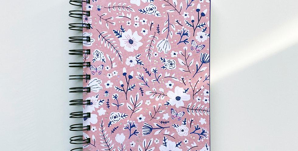 Summer Garden Holographic Foil Essence Notebook Journal