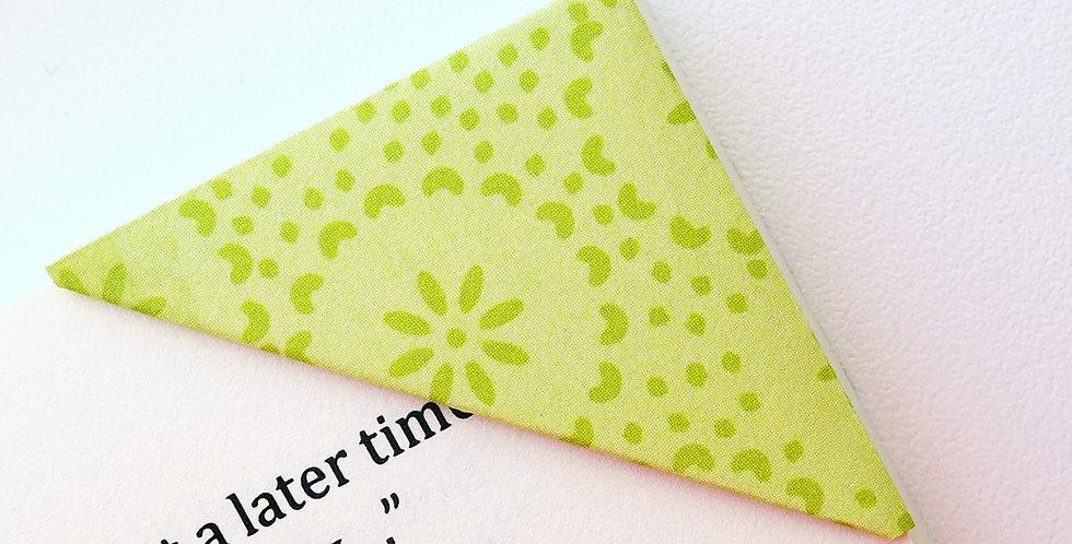 Bloomy Rice Field Bookmark