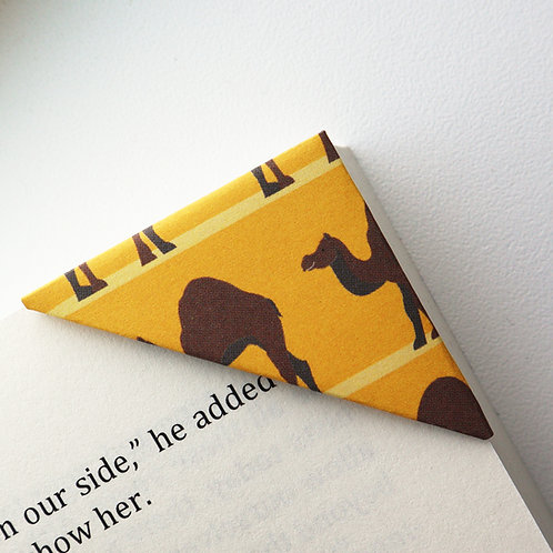 Camel In The Desert Bookmark