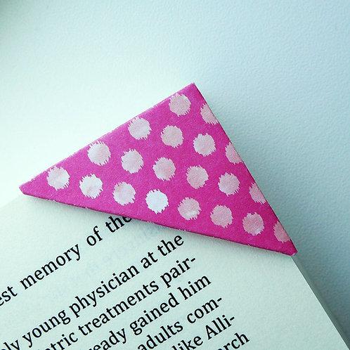 Wild Polka Dot Bookmark (3 colors)