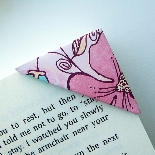 Mid Summer Night Bloom Bookmark (2 colors)