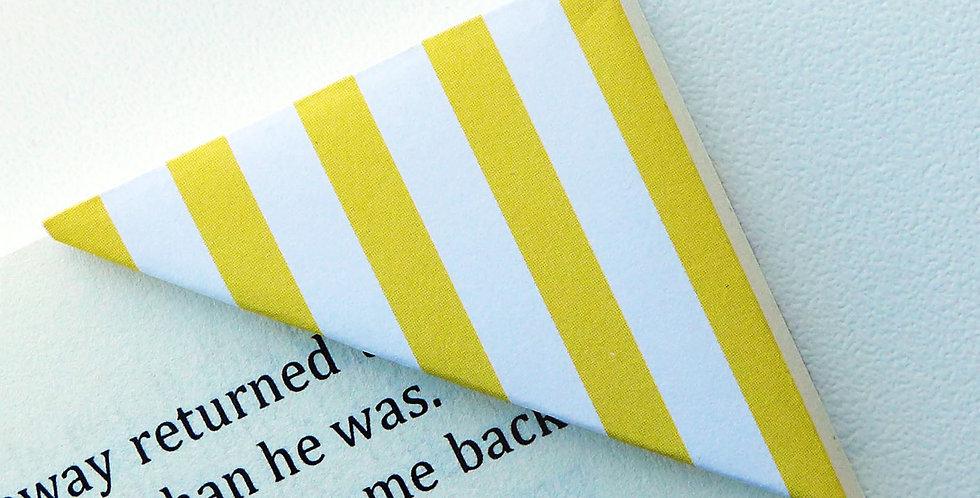 Yellow Banana Chew Wrapper Bookmark