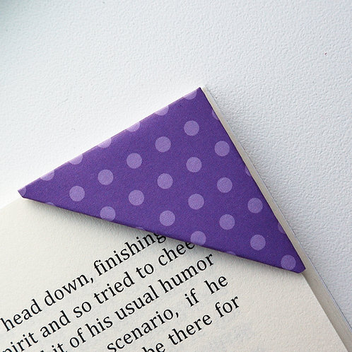 Small Polka Dot Bookmark (2 colors)