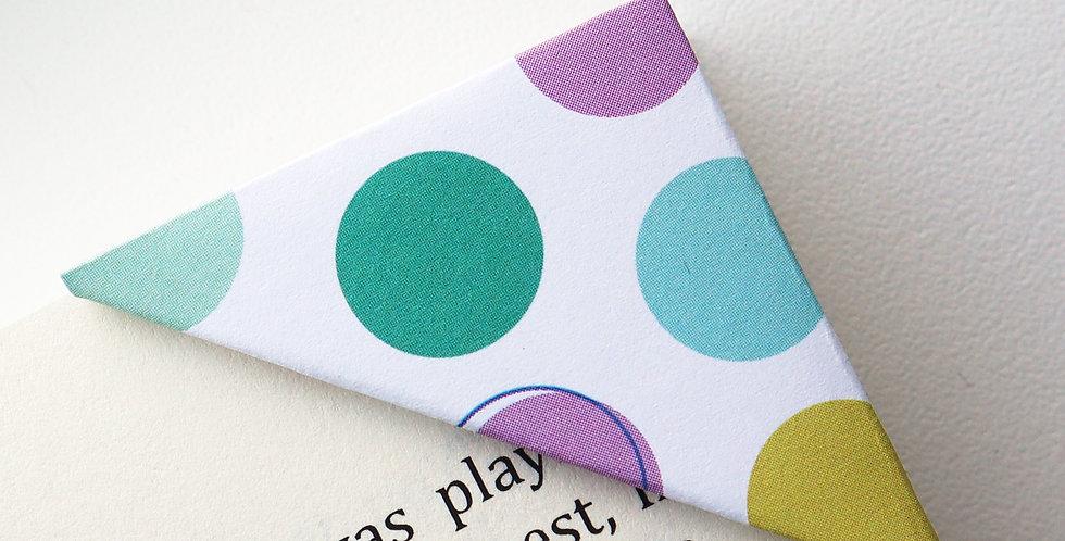 Large Polka Dot Colorful Bookmark