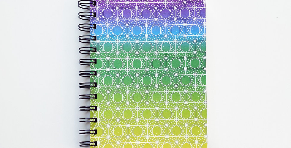 Pride Connection Rainbow Notebook Journal
