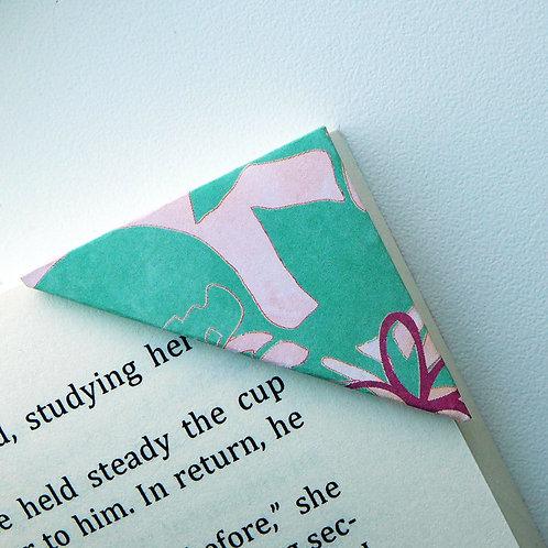 Abstract Summer Garden Bookmark