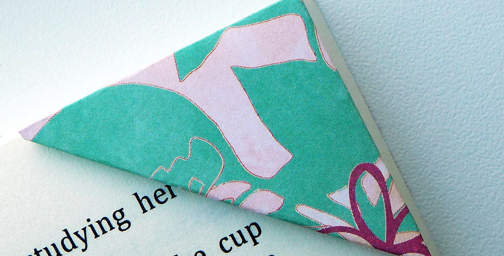 Abstract Summer Garden Bookmark