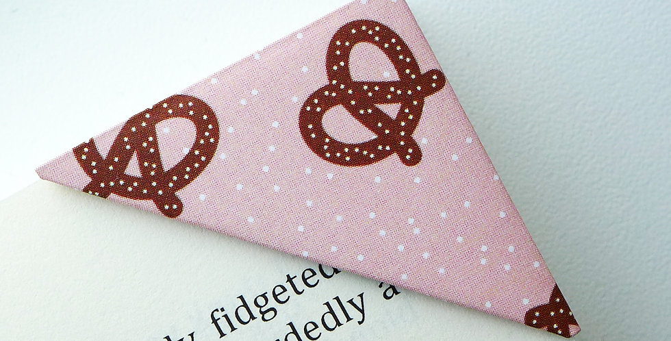Sweet Pretzel Bookmark