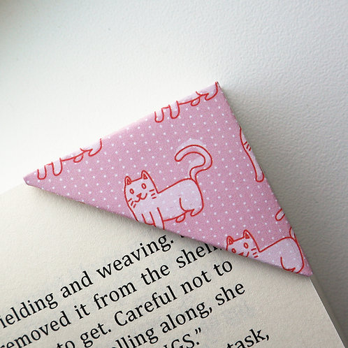 Fat Cat Bookmark