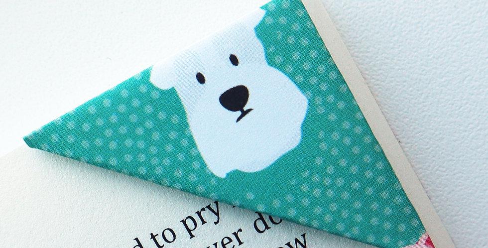 Puppy Head Bookmark