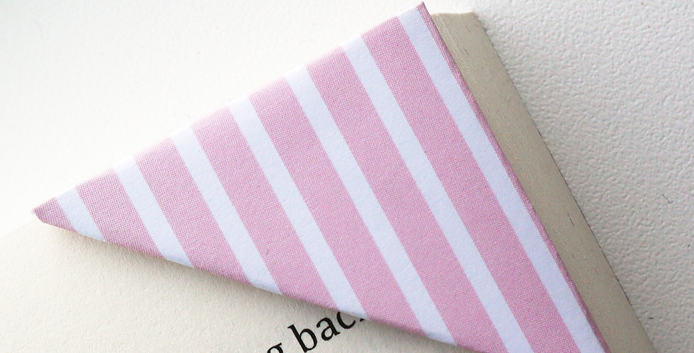 Pink Stripe Bookmark