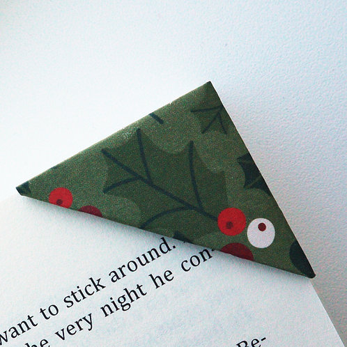 Christmas Is Here Bookmark
