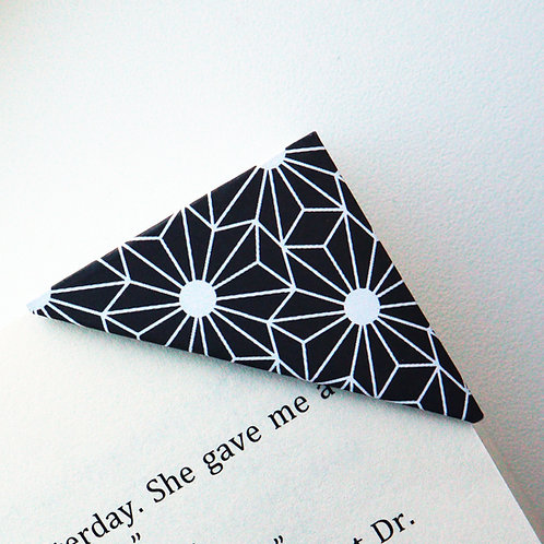 Geometric Floral Bookmark (4 colors)