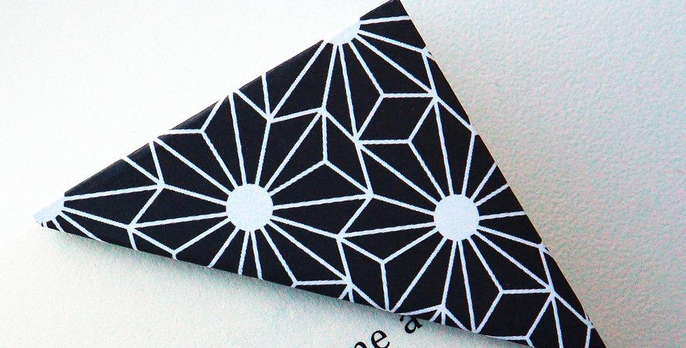 Geometric Floral Bookmark (4 colors)