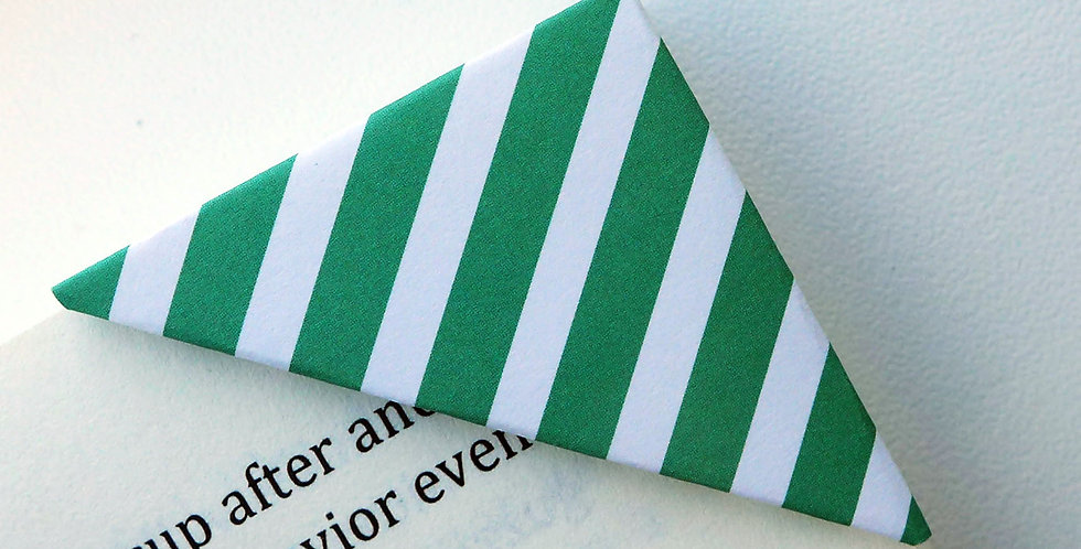 Mint Chocolate Candy Wrapper Bookmark