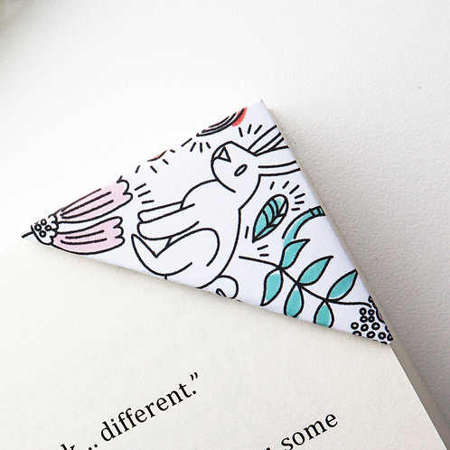 Easter Garden Bookmark