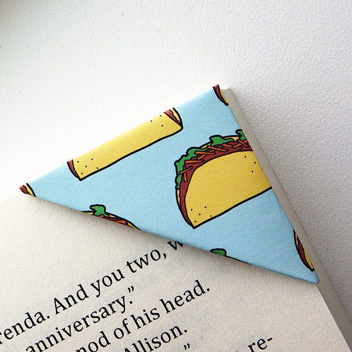 I Want Taco Bookmark