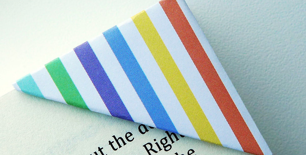 Colorful Stripe Bookmark