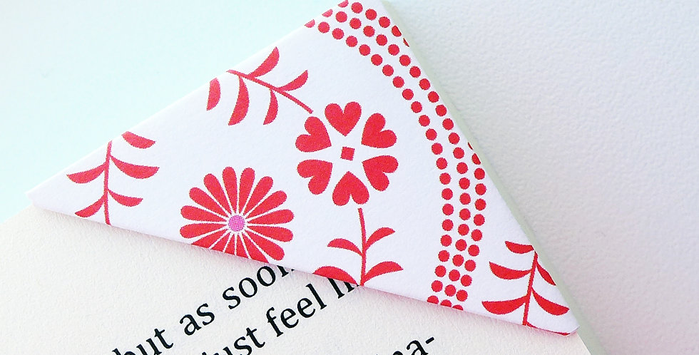 Mild Bloomy Bookmark (2 colors)